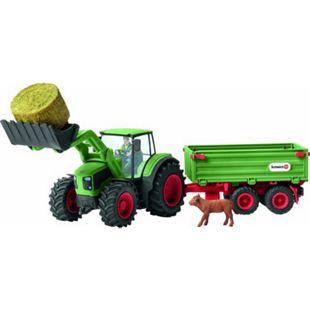Schleich® Schleich Farm World 42379 Traktor mit Anhänger - Bild 1