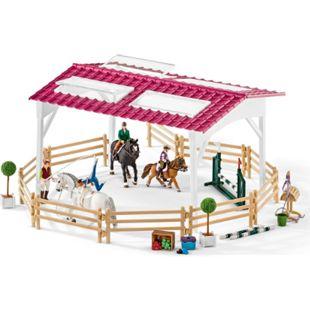 Schleich® Schleich Horse Club 42389 Reitschule mit Reiterinnen und Pferden - Bild 1