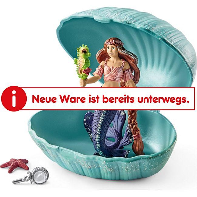 Schleich® Schleich bayala  Meerjungfrau mit Baby-Seepferd in Muschel - Bild 1