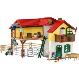 Schleich® Schleich Farm World Bauernhaus mit Stall und Tieren - Bild 1