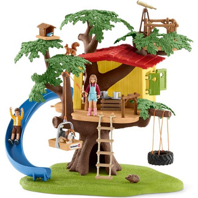 Schleich® Schleich Farm World Abenteuer Baumhaus - Bild 1