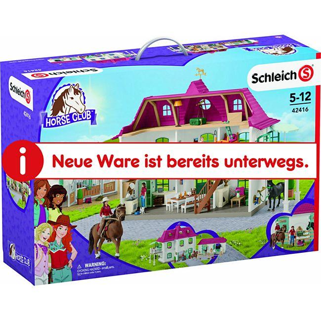Schleich® Schleich Horse Club 42416 Großer Pferdehof mit Wohnhaus und Stall - Bild 1