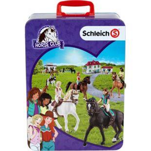 klein SCHLEICH HORSE CLUB Metall-Sammelkoffer - Bild 1