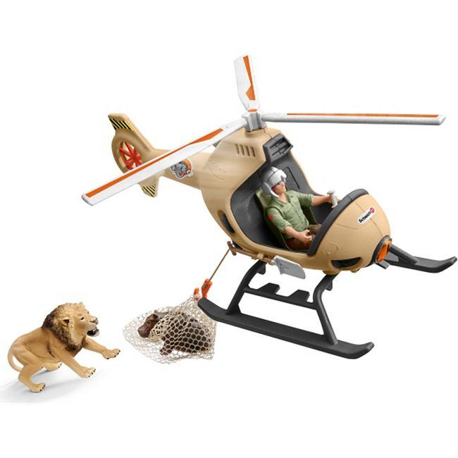 Schleich® Schleich Wild Life 42476 Helikopter Tierrettung - Bild 1