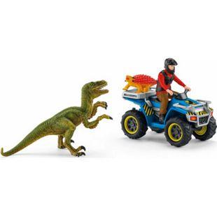 Schleich® Schleich 41466 Flucht auf Quad vor Velociraptor - Bild 1