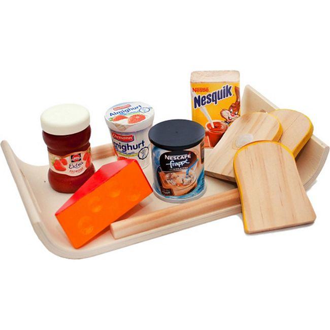 Tanner Modernes Frühstückstablett mit Zubehör - Bild 1