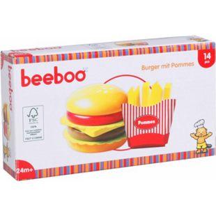 Beeboo Kitchen Beeboo Kitchen Burger mit Pommes, 14 Teile - Bild 1