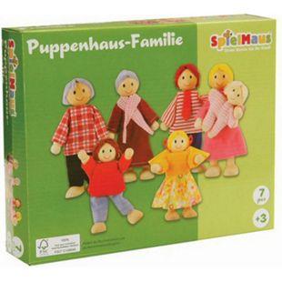 beeboo SpielMaus Holz Puppenhaus Familie - Bild 1