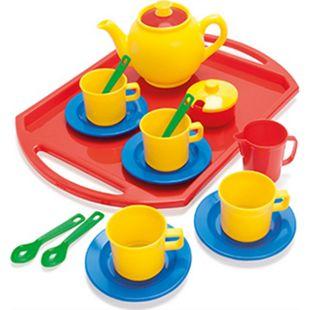 Dantoy Spiel-Teeset inklusive Tablett, 18-teilig - Bild 1