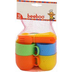 beeboo Kitchen Spiel-Service für 4 Personen, 20-teilig - Bild 1