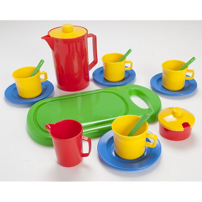 Dantoy Spiel-Kaffee-Set mit Schneidebrett - Bild 1