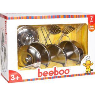 beeboo Kitchen Spiel-Edelstahltopf-Set, 7-teilig - Bild 1
