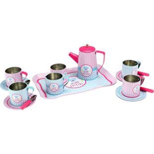 Beluga Spiel-Kaffee-Set aus Metall, 16 teilig - Bild 1
