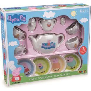 Simba Smoby PEPPA PIG Porzellan-Kaffee-Geschirrset - Bild 1