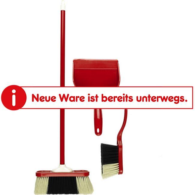 klein Theo  Spiel-Kehrset 3-teilig Kunststoff rot - Bild 1