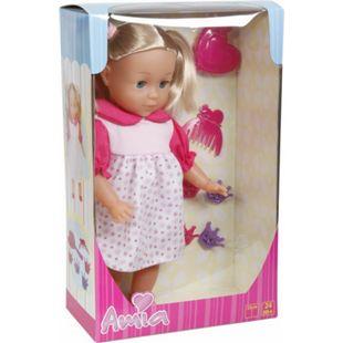 Amia Puppe mit Haar, 33 cm, inklusive Zubehör - Bild 1