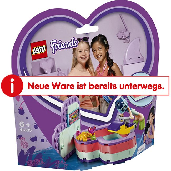 LEGO® Friends 41385 Emmas sommerliche Herzbox, 86 Teile, ab 6 Jahre - Bild 1