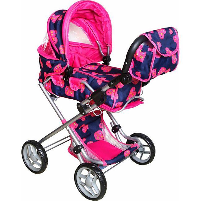 Amia Puppenwagen mit Tasche, höhenverstellbar - Bild 1