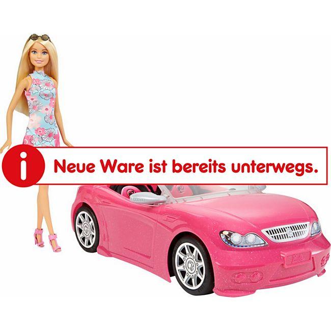 Barbie Mattel FPR57  Glam Cabrio mit Puppe - Bild 1