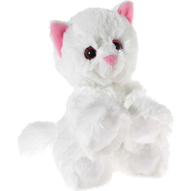 Heunec GLITTER-KITTY Katzen-Baby weiß - Bild 1