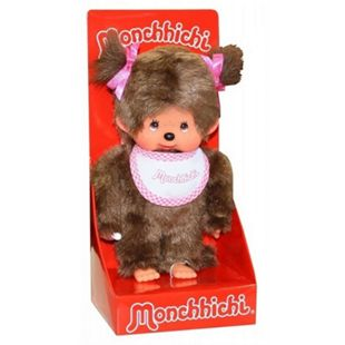 Monchhichi Classic Girl pink, ca. 20 cm - Bild 1