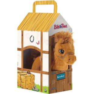 Heunec BIBI & TINA Pferd Amadeus stehend im Stall - Bild 1