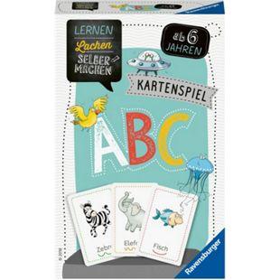 Ravensburger 80347 Lernen Lachen Selbermachen: Kartenspiel ABC - Bild 1