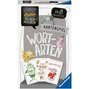Ravensburger 80353 Lernen Lachen Selbermachen: Kartenspiel Wortarten - Bild 1