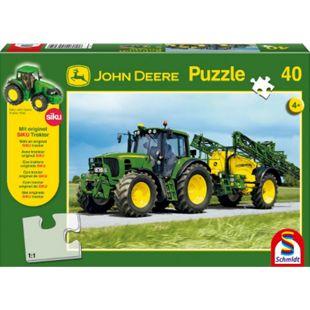 Schmidt Spiele Puzzle John Deere Traktor 6630, 40 Teile - Bild 1