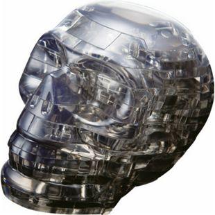 HCM 3D Crystal Puzzle - Schädel schwarz 49 Teile - Bild 1