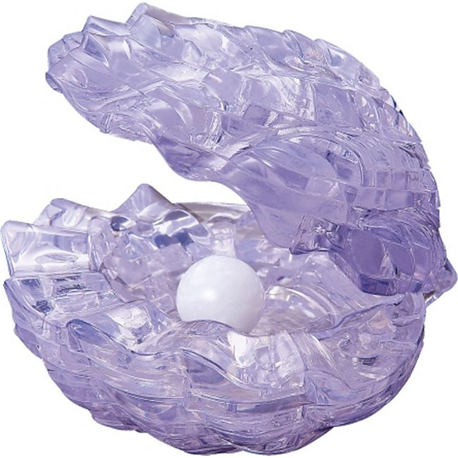 HCM 3D Crystal Puzzle - Muschel 48 Teile - Bild 1