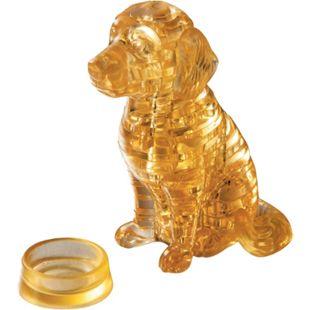HCM 3D Crystal Puzzle - Golden Retriever 41 Teile - Bild 1
