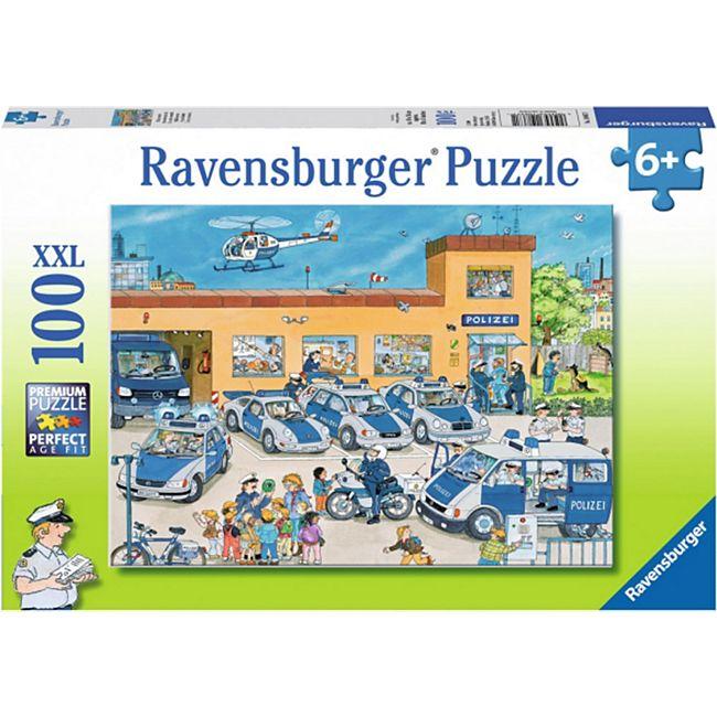 Ravensburger 10867 Puzzle Polizeirevier 100 Teile - Bild 1