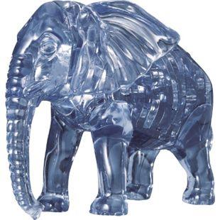 HCM 3D Crystal Puzzle - Elefant 40 Teile - Bild 1