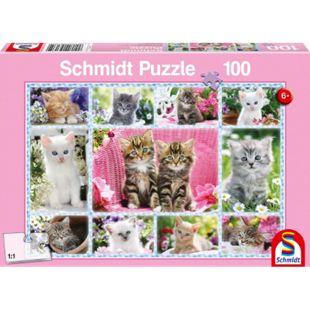 Schmidt Spiele Puzzle Katzenbabys 100 Teile - Bild 1