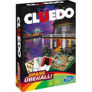 Hasbro Gaming Hasbro B0999 Cluedo Kompakt - Bild 1