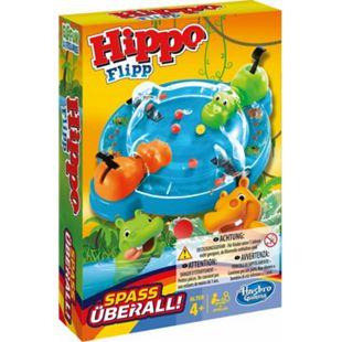 Hasbro Gaming Hasbro B1001100 Hippo Flipp Kompakt - Bild 1