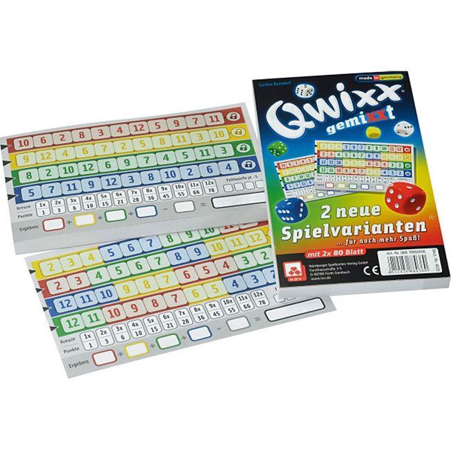 NSV Qwixx gemiXXt - Zusatzblöcke (2er) - Bild 1