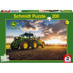 Schmidt Spiele Puzzle John Deere Traktor 6150R, 200 Teile - Bild 1