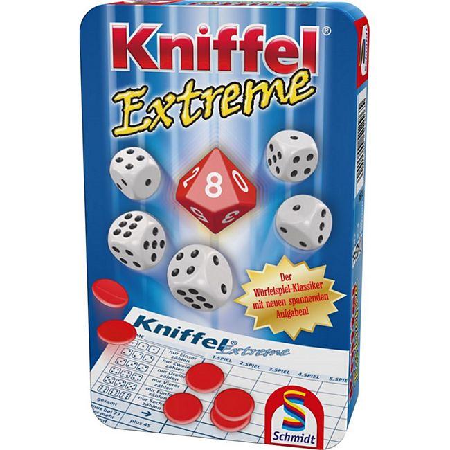 Schmidt Spiele Kniffel® Extreme Mitbringspiel in der Metalldose - Bild 1
