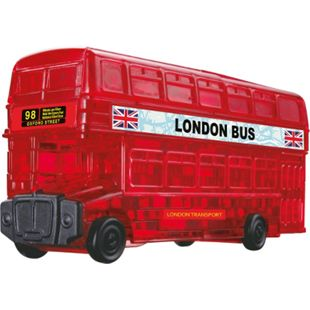 HCM Kinzel 3D Crystal Puzzle - London Bus 53 Teile - Bild 1