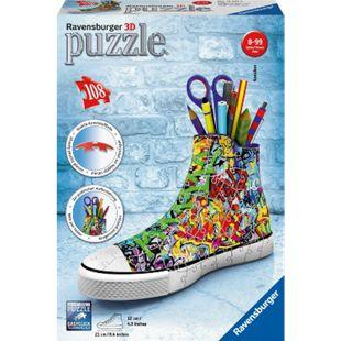 Ravensburger 12535 Puzzle 3D Sneaker Graffiti Style 108 Teile - Bild 1