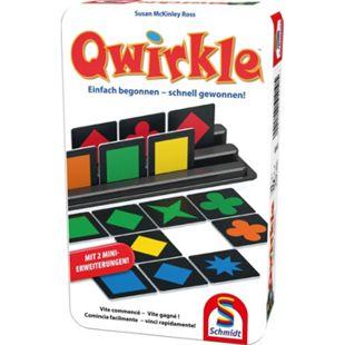 Schmidt Spiele Qwirkle Bring-mich-Mit-Spiel in der Metalldose - Bild 1