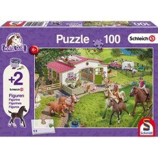 Schmidt Spiele Puzzle Ausritt ins Grüne, 100 Teile - Bild 1