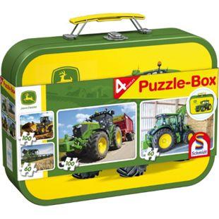 Schmidt Spiele Puzzle John Deere, Puzzle-Box, 2x60, 2x100 Teile - Bild 1