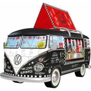 Ravensburger 125258 Puzzle 3D VW Bulli Food Truck 162 Teile - Bild 1
