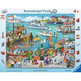 Ravensburger 06152 Puzzle: Ein Tag am Hafen 24 Teile - Bild 1
