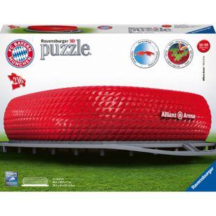 FCB Ravensburger 12526 Puzzle 3D Allianz Arena 216 Teile - Bild 1