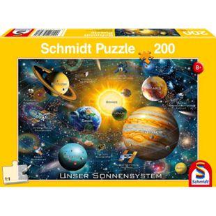 Schmidt Spiele Puzzle Unser Sonnensystem, 200 Teile - Bild 1