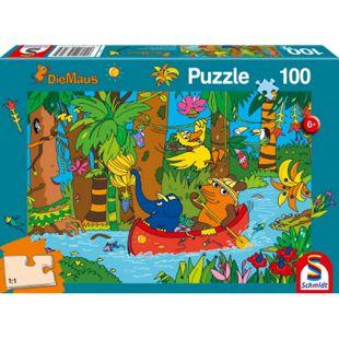 Schmidt Spiele Puzzle Im Dschungel, 100 Teile - Bild 1
